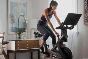 Peloton Exercising Machine